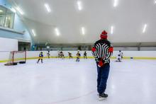 Ice Hockey Kids Players