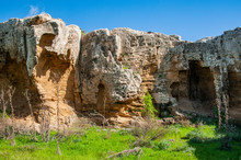 Starting From The 4th Century BC, Ancient Paphos Belonged To The Ptolemaic Dynasty Of Egypt. At One Time, The Entire City Was Surrounded By Powerful Fortifications, Which Are Still Visible Today.
