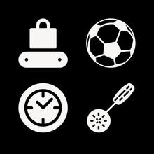 Parker 4 Filled Icon Set