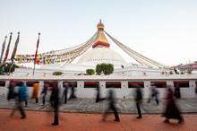 Tibetan Pilgrims Circle The Bo...