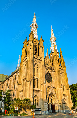 Photo St. Mary of the Assumption Cathedral in Jakarta, Indonesia