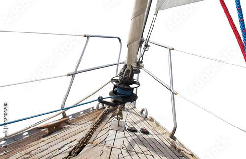rigging of a sailing ship © Diya