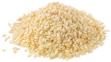 White Sesame Seeds Pile, Paths