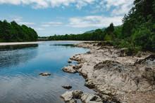 Schottland Fluss Highlands Sommer