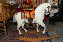 Very Old Rocking Horse For Children
