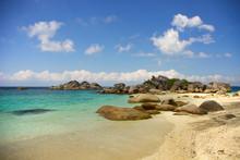 Beautiful Seashore With Big Ro...