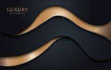 Abstract Wavy Layers Pattern W...