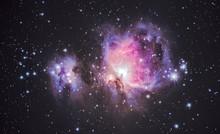 Orion Nebula Detailed HDR Capture Interstellar Explosion