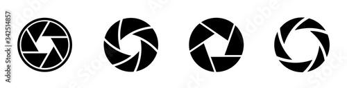 Photo Camera lens diaphragm collection