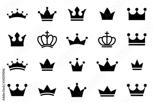 Obraz na plátně Big set quality crowns