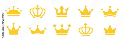 Fotografie, Obraz Big set quality crowns