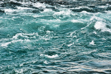 Rough Water Waves In A River