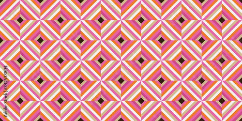 Photo Swinging 60s Wallpaper Pattern   Groovy Sixties Background   1960s Mod Style   V