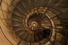 Spiral Stairway Inside Of Arc ...