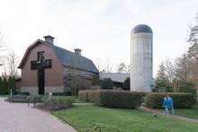 Charlotte, North Carolina, USA - January 15, 2020: The Billy Graham Library In Charlotte, North Carolina, A Museum And Library Documenting The Life And Ministry Of Christian Evangelist Billy Graham.