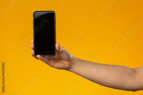 Fototapeta Mão Telefone