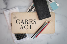 Cares Act Sign On Wooden Sign ...