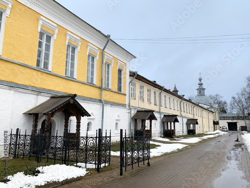 Photo Abbot, fraternal and hospital buildings of  Spaso-Prilutsky monastery in Vologda