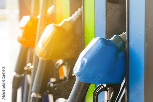 Fototapeta Gas station Fuel pump