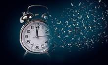Time Clock Breaking In  Flying...