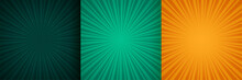 Sun Burst Zoom Rays Background...