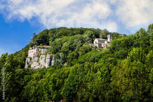 Photo La Verna, Franciscan Sanctuary, in Tuscany, Italy.