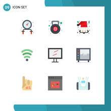 9 User Interface Flat Color Pa...