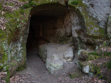 End Of Cave Enter To Undergrou...