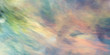 Abstract green and beige fantastic clouds. Colorful fractal background. Digital art. 3d rendering.