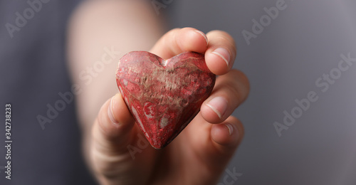 show heart icon social media Fototapete