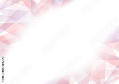 エレガントなクリスタルのような幾何学背景ピンク Stock Vector Adobe Stock