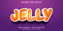 Editable Text Effect - Jelly B...