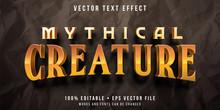 Editable Text Effect - Mythica...