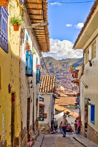 Cusco, Peru, Historical landmarks, HDR Image Fototapete