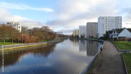 Fototapeta Panorama miasta Kołobrzeg obraz
