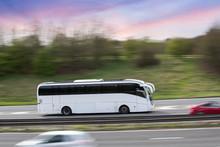 Bus Motion Traffic Transport O...