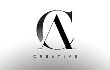 CA AC Letter Design Logo Logot...