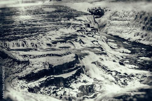 Gulfoss waterfall, Iceland Canvas Print