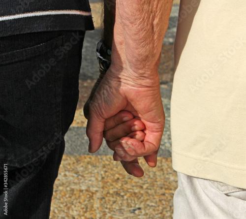 Carta da parati main dans la main