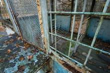 Abandoned Kiosk In Chernobyl
