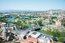 Cityscape Of Tbilisi, View On ...