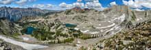 Panoramic View Of Snowcapped M...