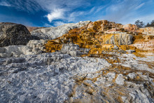 Mammoth Hot Spring Yellowstone