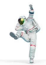 Astronaut Is Dancing