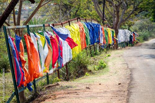 Fotografie, Tablou Camp de réfugiés tibétains en Inde