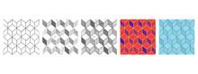 Rhombille Tiling Set