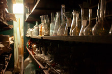 Glass Flasks, Test Tubes And J...