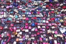 Love Locks On Hohenzollern Bridge