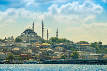 Yeni Cami Mosque In City By Se...