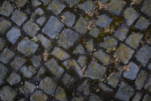 Background Image Of Detailed Texture Of Old Paving Stones